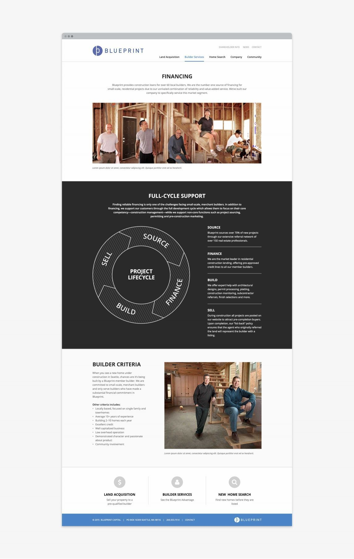 Brand platform website doubleknot creativedoubleknot creative we embraced the tension between their progressive approach and their financially conservative values malvernweather Images