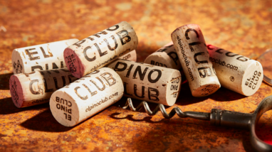 El Pino Club corks and corkscrew